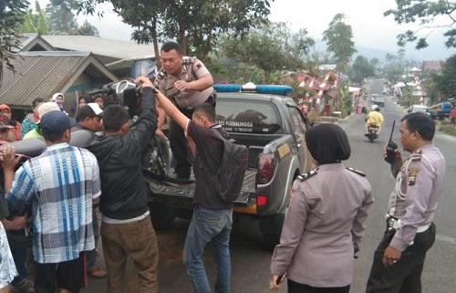 Empat Luka-luka Tabrakan di Jalan Raya Siwarak Karangreja Purbalingga