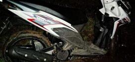 Heboh! Motor Honda Vario dengan Kunci Kontak di Pematang Sawah Padamara Purbalingga